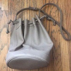 vintage 90s made in usa coach leather shoulder bag